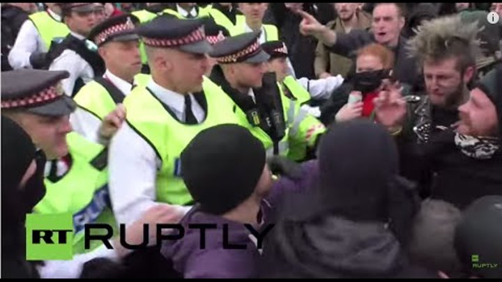 UK: May Day clashes rock London Bridge