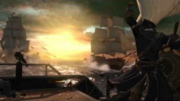 Assassin's Creed 3 - Официальный морской трейлер [RU]