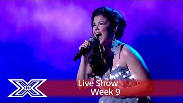 Saara Aalto lights up the stage with Sia's Chandelier | Semi-Final | The X Factor UK 2016