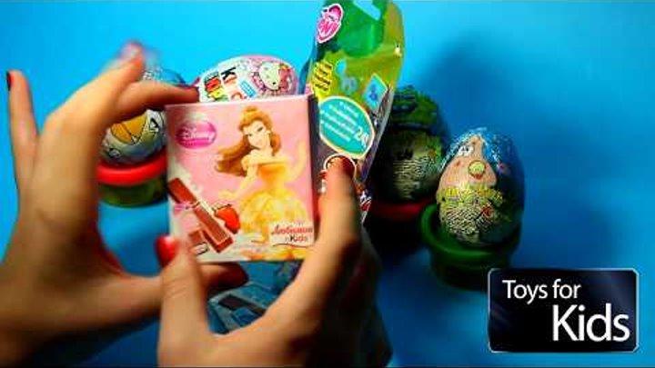 МИЛАЯ ПОНИ ХОЛОДНОЕ СЕРДЦЕ ПРИНЦЕССЫ АННА ЭЛЬЗА И ОЧЕНЬ МНОГО ИГРУШЕК My Little Pony Frozen Toys