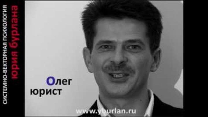 Системно-векторная психология Юрия Бурлана