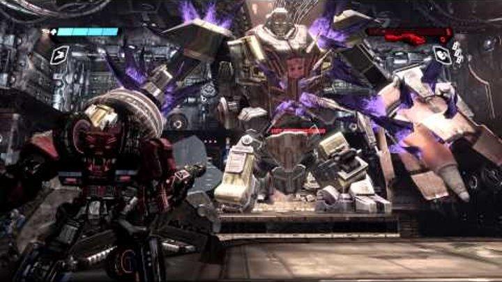 Прохождение игры Трансформеры битва за кибертрон часть16