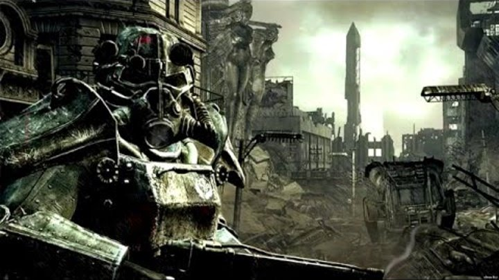 Fallout 3 (6) Минное поле и его обитатель
