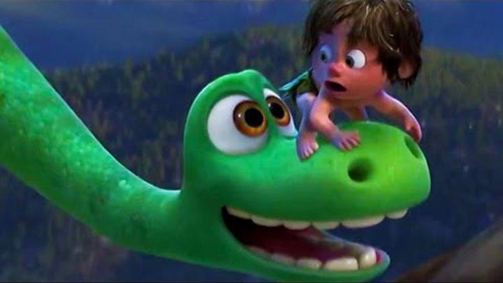 Мультфильм The Good Dinosaur full trailer 2015 (Хороший динозавр) | HD трейлер на английском | Актер