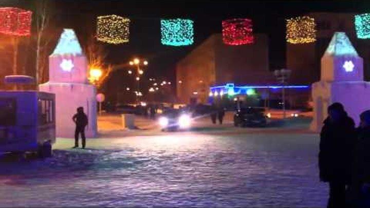 Когалым 2012 Снежный городок