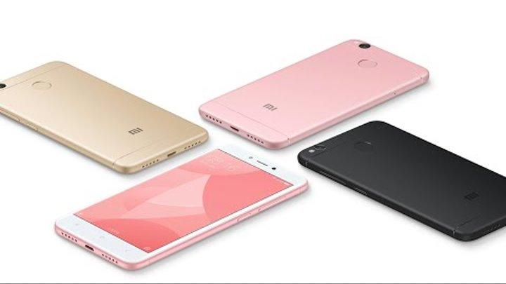 первый ОБЗОР Iphone X? Нет, это - Xiaomi Redmi 4X 3/32 Гб | гений завлекательных названий
