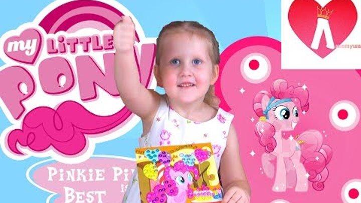 Поделка Май Литл Пони своими руками Пинки Пай My Little Pony Видео для детей