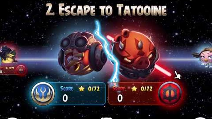 Angry Birds - Star Wars II (2). Энгри Бердс - Звездные воины II.