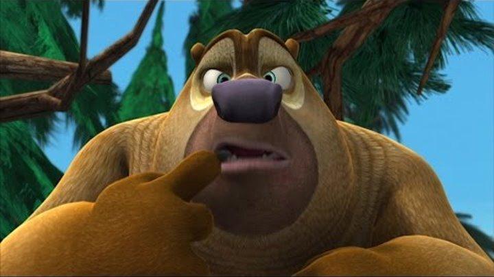 Медведи-соседи 🐻 | 2 сезон 83 серия | Кто сидит в носилках? | Мультики детям