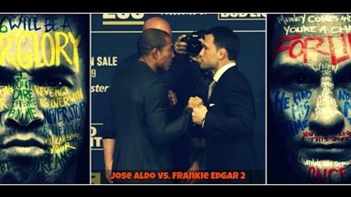 Jose Aldo preparing for Frankie Edgar at UFC 200 in Las Vegas, Nevada