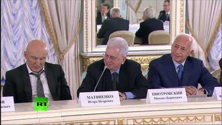 Совет по культуре 15 12 18 Путин о строителях это не специальность 30 сек