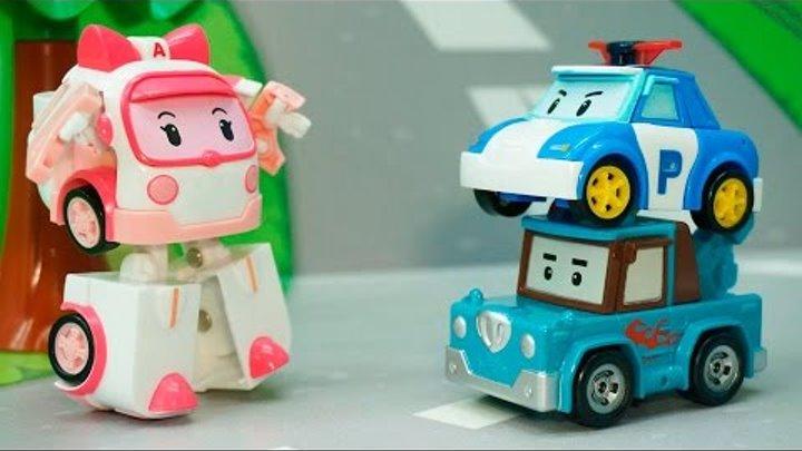 Мультики Мультфильмы для детей - Молния. Развивающие мультики Для детей. Робокар Поли новые серии