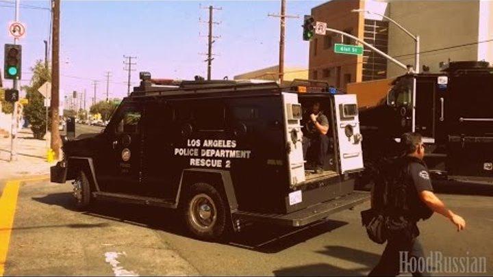 Задержание членов мексиканкой банды | 3/4 | Лос-Анджелес