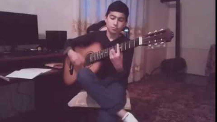 Узбек гитарист Бекзод-окибат