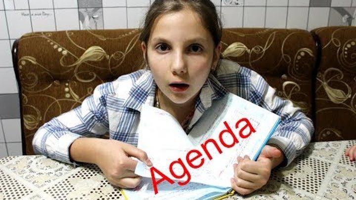 Irochka a RUPT FOAIE DIN AGENDA Vrea sa Ascunda NOTELE Video pentru COPII