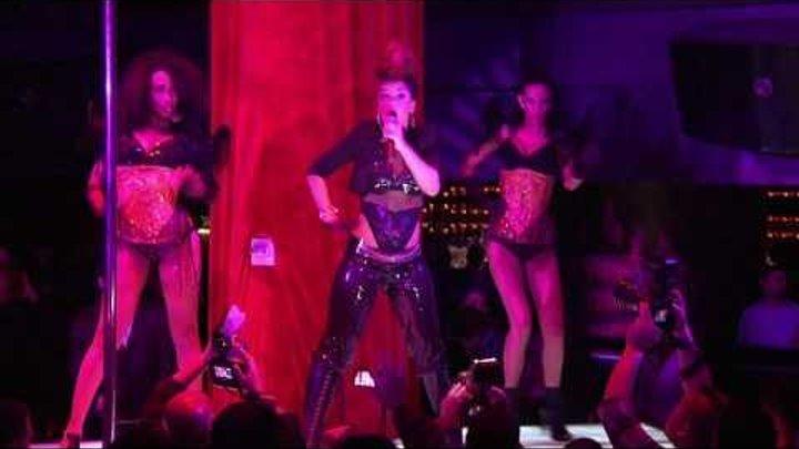 "Eva Simons Performing ""Take Over Control"" at Haze on 12.02.10"