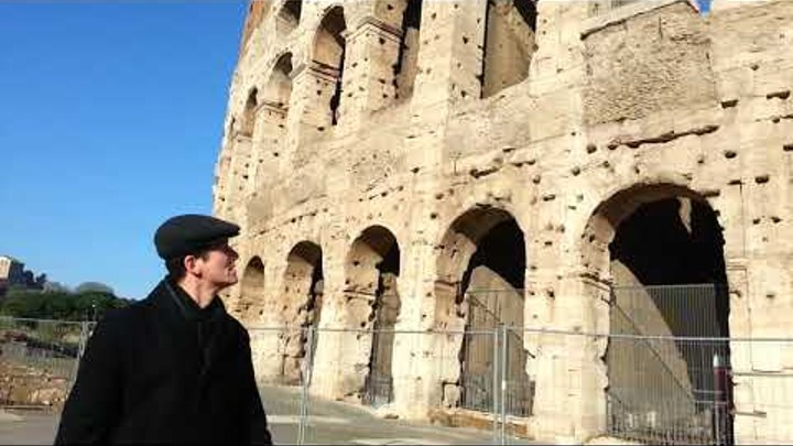 Rome Colosseum / Рим. Колизей. февраль 2017