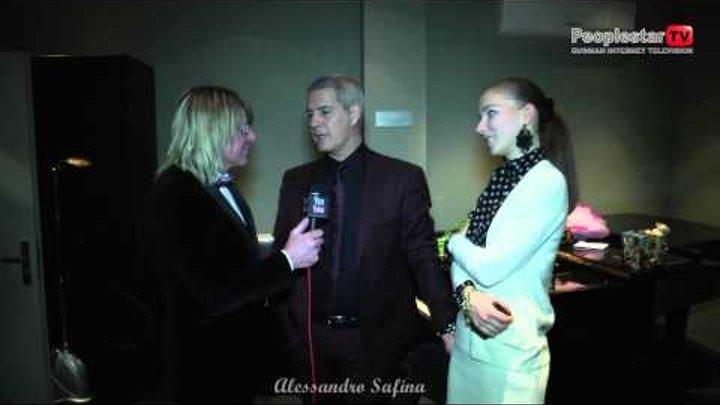 Alessandro Safina. Очень Весёлое Интервью! 8 марта 2013.