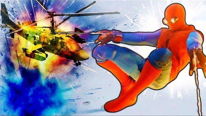Человек-паук ОПЯТЬ ВЕРТОЛЁТ! Прохождения игры как мультик Marvel's Spider-Man #19
