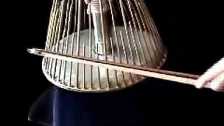 Музыкальный инструмент для создания звуковых эффектов в фильмах ужасов