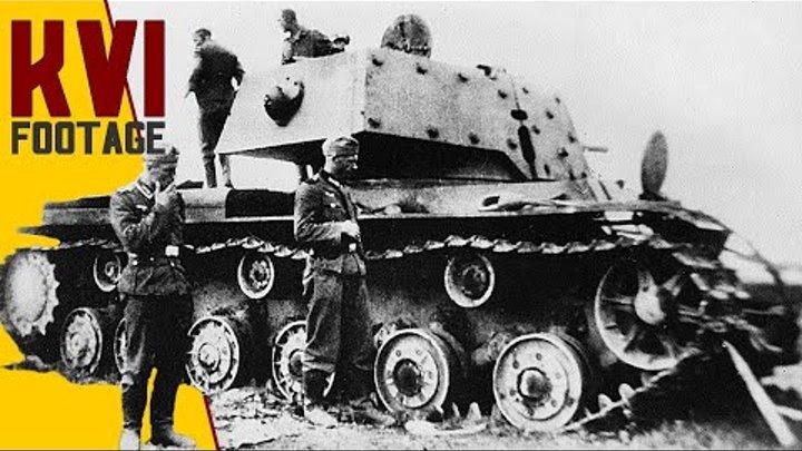 KV-1 WW2 Footage - КВ-1 серийный - Танк, танк клим ворошилов 1