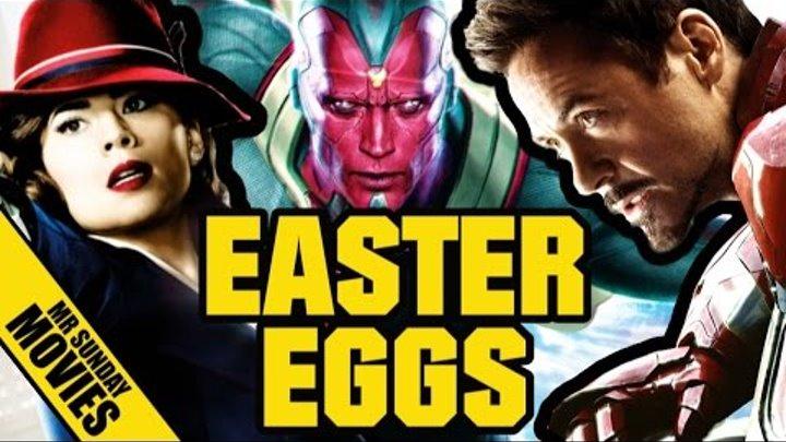 Best AGENT CARTER, AGE OF ULTRON & MARVEL Easter Eggs