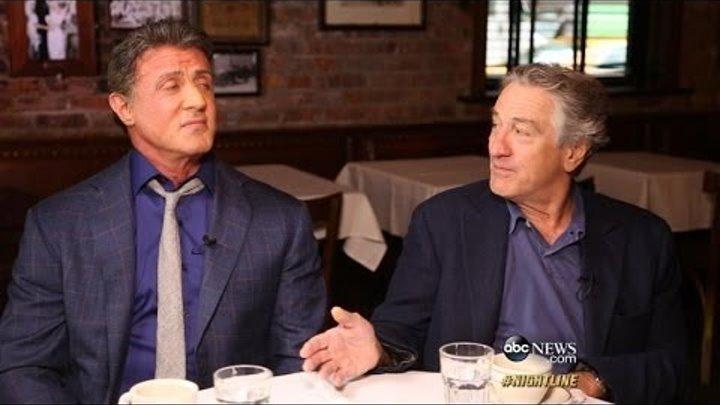 Robert De Niro, Sylvester Stallone on Making 'Grudge Match'