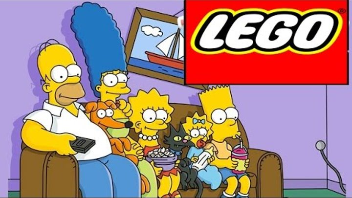 LEGO Minifigures Simpsons Series 2 LEGO Minifigures opening, 71009 Лего минифигурки Симпсоны 2