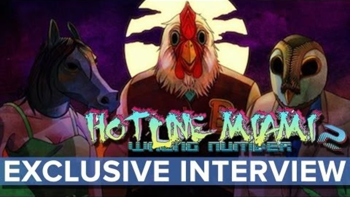 Hotline Miami 2: Wrong Number - EXCLUSIVE Interview - Eurogamer