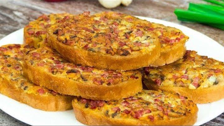 Lepiej niż pizza i przygotowuje się o wiele łatwiej – kanapki na gorąco z grzybami!