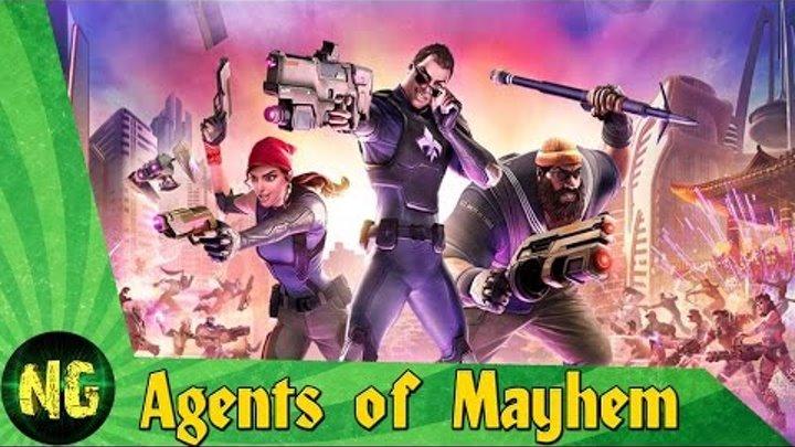Agents of Mayhem | Трейлер | Экшен в открытом мире от создателей Saints Row | Плохие против злых