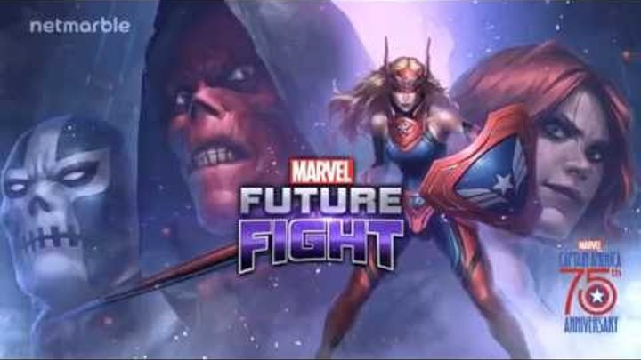 Marvel Future Fight : [MARVEL Future Fight] Introduce New Captain America (Sharon Rogers)