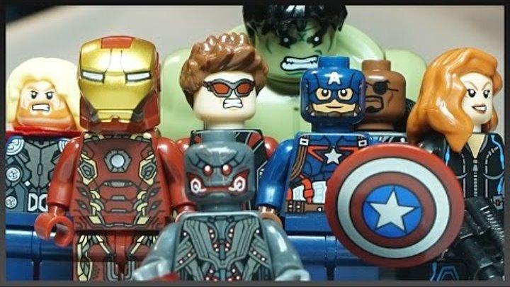 Лего Мстители 2: Эра Альтрона минифигурки марвел из Китая - Lego SY Avengers: Age of Ultron