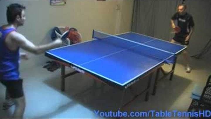 table tennis HD rally match tips tricks ping pong