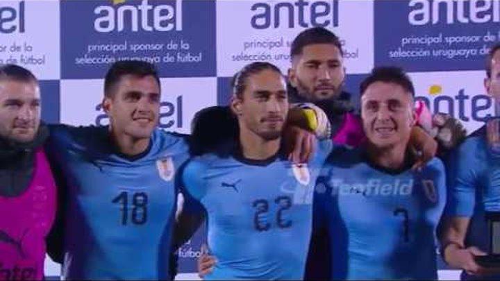 Amistoso Despedida - Uruguay 3:0 Uzbekistán