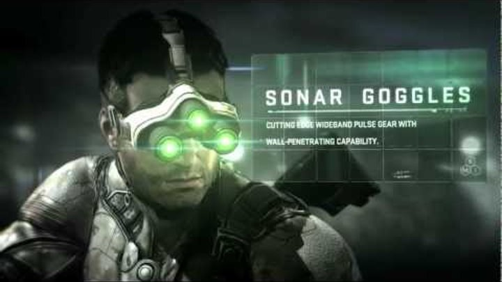 Splinter Cell Blacklist | Sam Fisher's New Gear [NORTH AMERICA]