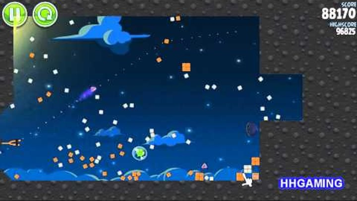 Angry Birds Space - Walkthrough 1-29 3 stars Pig Bang level guide how to get three star levels