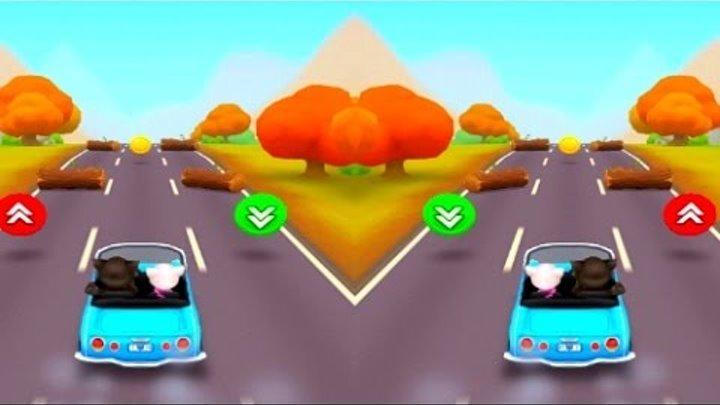 Для Детей Игра на Андроид #Котенок Говорящая Кот Том Снеговик Мульт Кино Анимация Serie 35