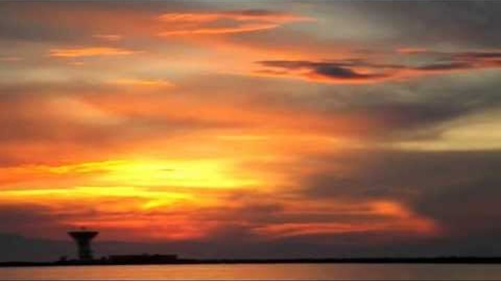Евпатория-заход солнца