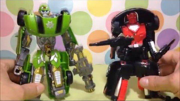Space Robot Hot Detrusion Sart-up of Wisdom and Robo Changer from Kids Stuff