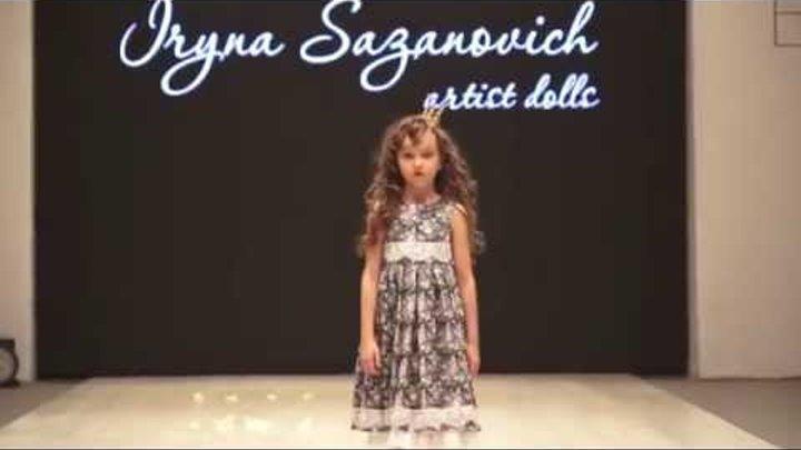 Показ Ирины Сазанович на Belarus Fashion Week 2015 (Kids Fashion)