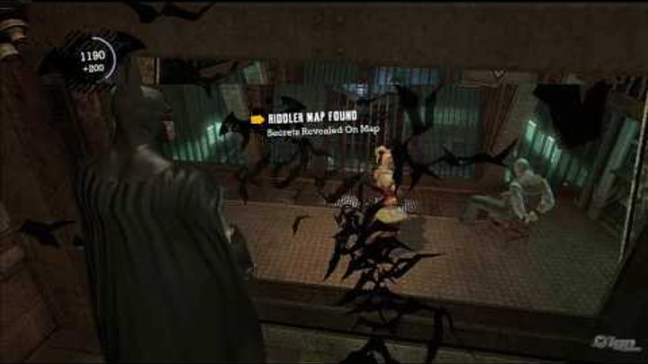 Batman: Arkham Asylum 'Joker's game Gameplay' TRUE-HD QUALITY