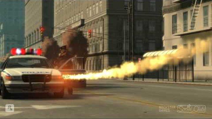 GTA IV - Assassin - Police chase