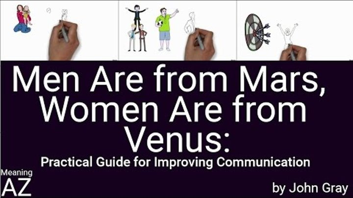 Men Are from Mars, Women Are from Venus by John Gray ; Animated Book Summary