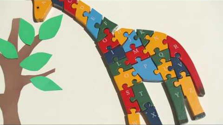 Песни для малышей - ABC Giraffe Song