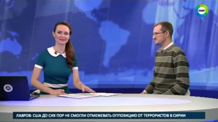 Владимир Порываев в сюжете о поиске кладов телекомпании МИР.