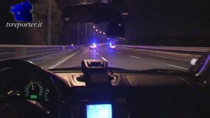Roma: Polizia Stradale insegue tassista a oltre 210 Km orari