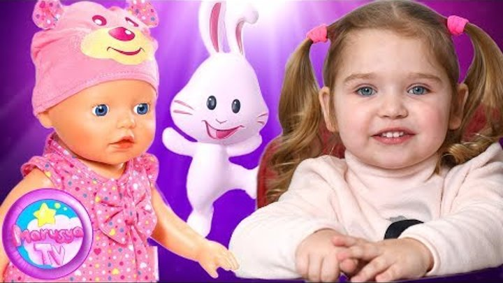 Кукла BABY BORN научилась ходить и Говорить | Интерактивная Беби Борн Учимся Ходить и Коляска