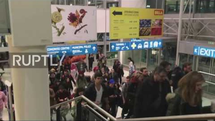 Czech Republic: Prague Airport evacuated due to bomb alert
