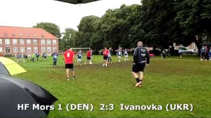 U14 boys. Group SS-A2. Generation Handball 2016. Ivanovka - HF Mors 1 - 3:4 (1st half) 04.08